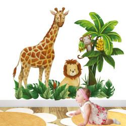 Giraffe and Lion Nursery...