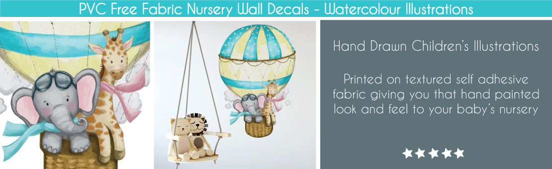 Watercolour Wall Stickers