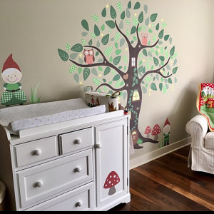 Enchanted Gnomes Wall Stickers