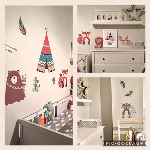 Deluxe Aztec Wall Stickers